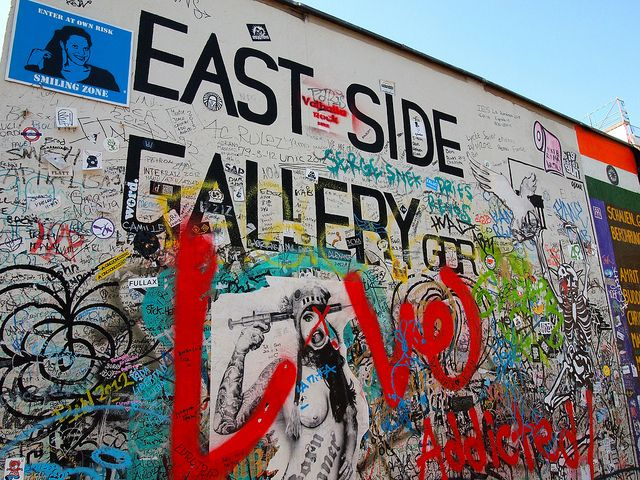 The Berlin Wall Then And Now Berlin Wall East Side Gallery Europe Travel