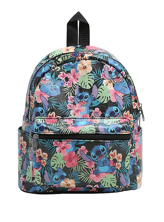 6f9fc0c1ba5 Loungefly Disney Lilo   Stitch Mini Faux Leather Backpack