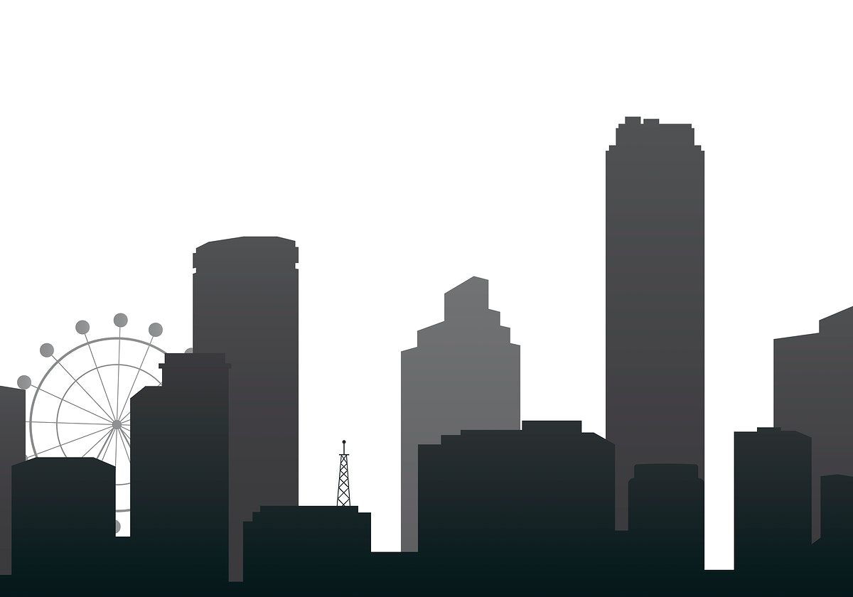 Black Silhouette Cityscape Background Vector Free Image By Rawpixel Com Aum Vector Art Design Vector Art Vector Free