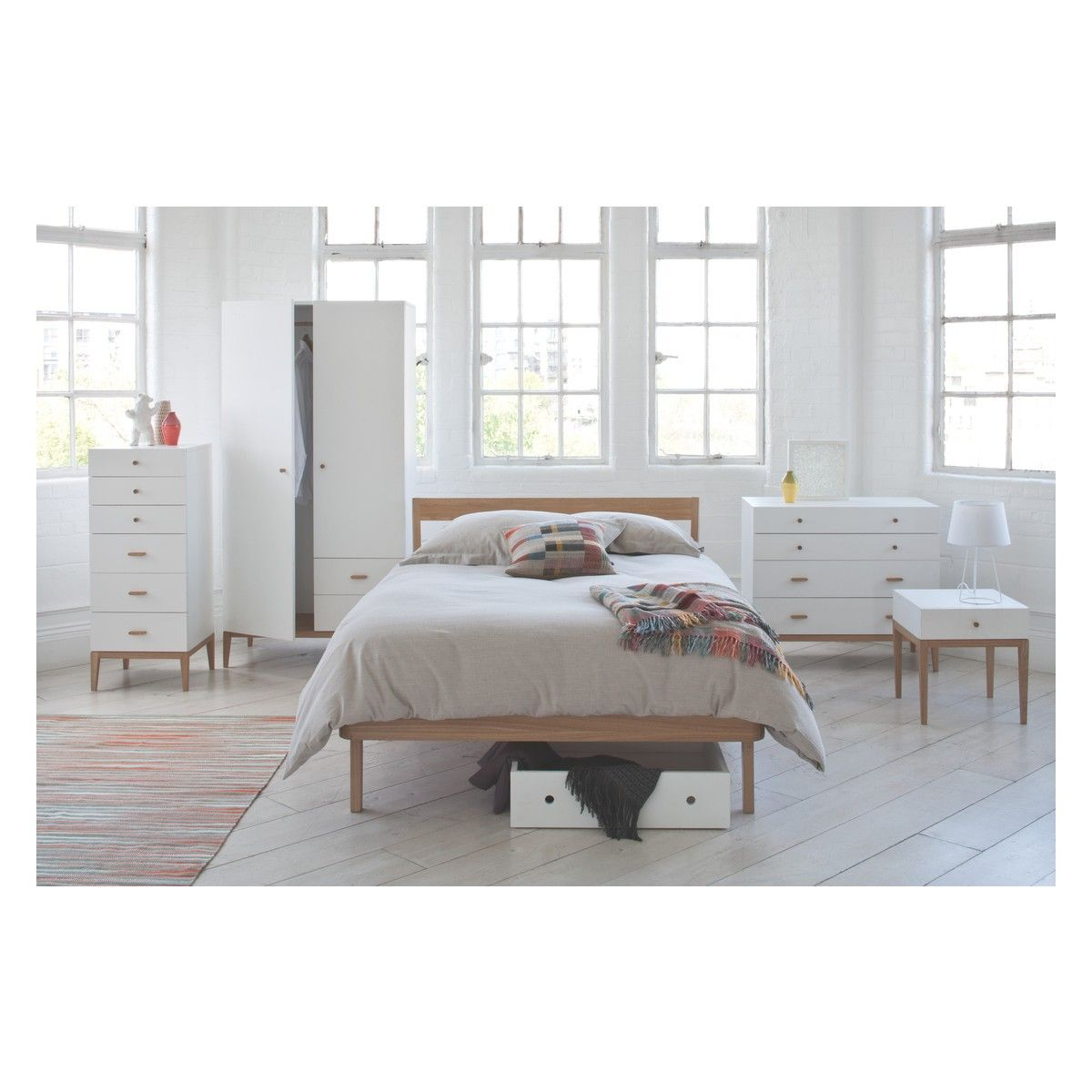 TATSUMA Ash uk double bed 135cm | Buy now at Habitat UK | Beds in ...