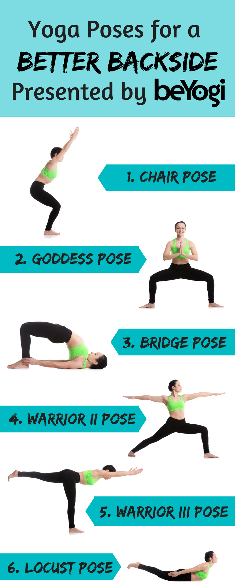 Yoga Sequence Glutes