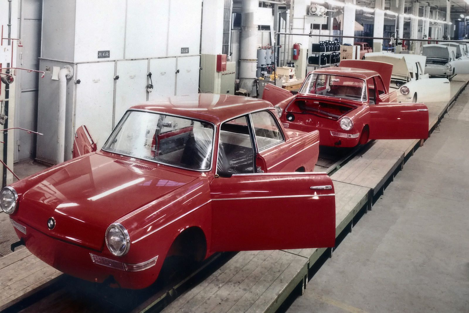 1959 BMW 700 Assembly line | by Auto Clasico