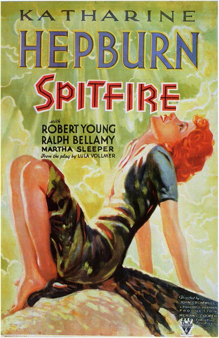 Mística y Rebelde (Spitfire), de John Cromwell, 1934
