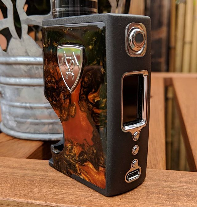 The Spade DNA75C from Vicious Ant  It sure is one very pretty mod