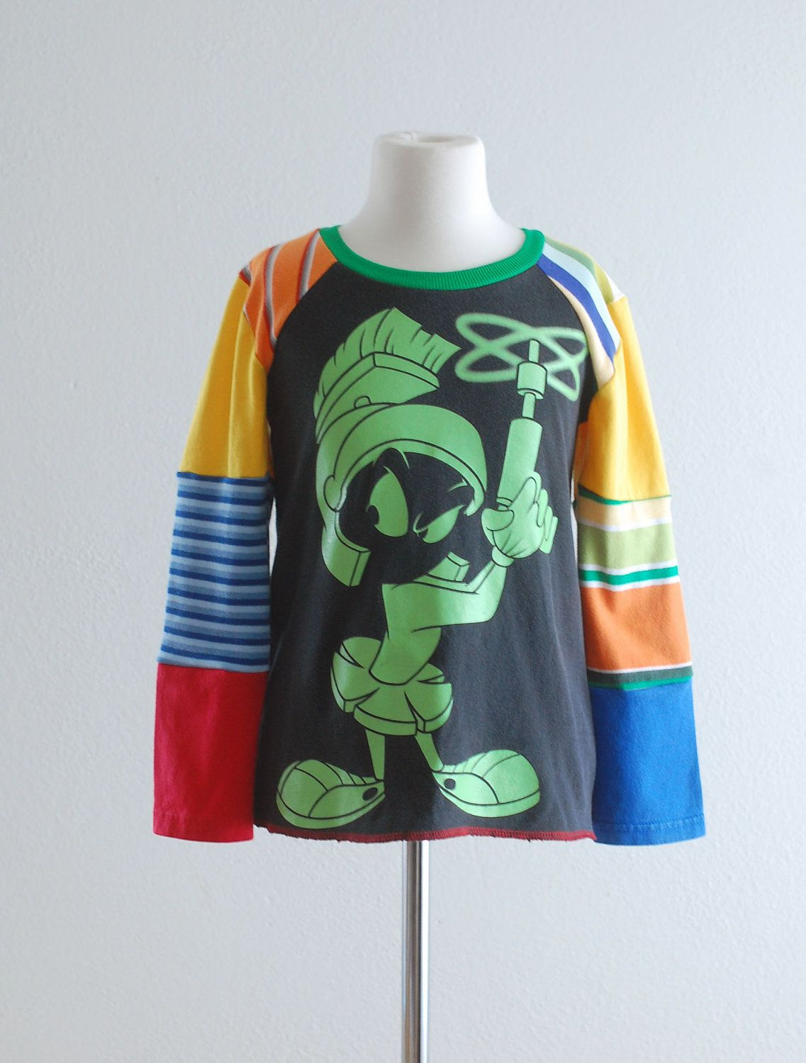 Upcycling Clothes Upcycled T Shirt Upcycled Clothing Looney Tunes Kids Clothes Boys