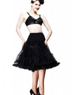 Long Petticoat - Black