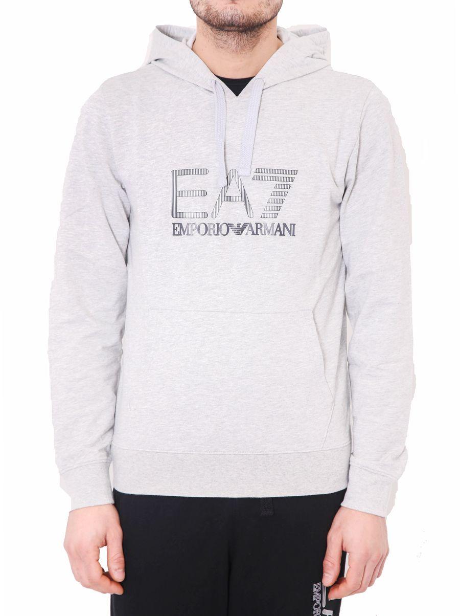 Emporio Armani Ea7 - Printed Sweatshirt, Grey   Ea7 Men   Pinterest ... ad9a5223a83