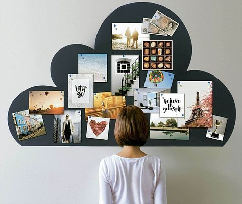 A vision board is a combination of collage and mind-map, a display of images of how you would like your forthcoming year to be