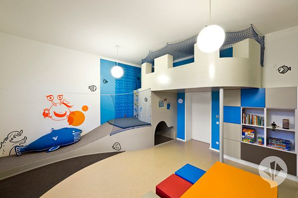 kids room slide