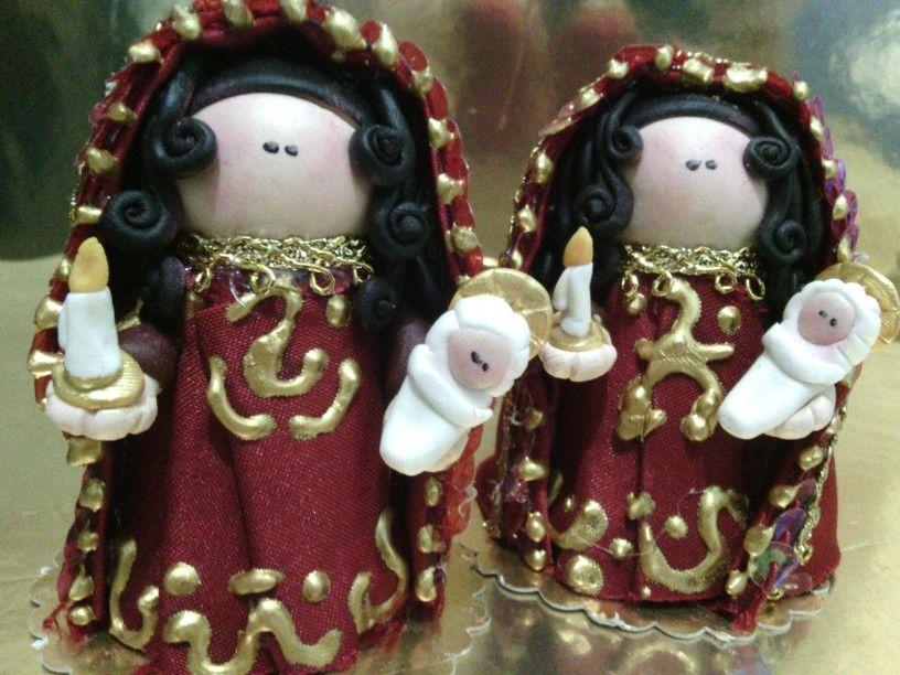 Virgen de la candelaria vestida
