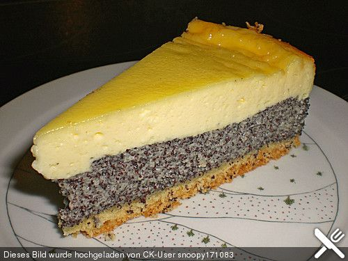 Mohn Schmand Kuchen Rezepte Pinterest Kuchen Schmand Und