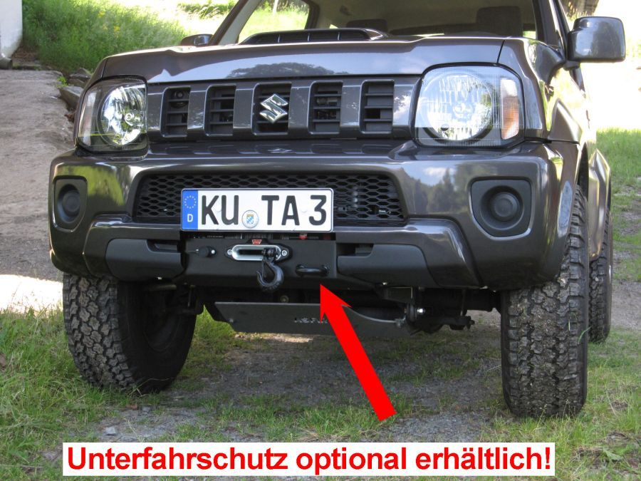 seilwinden set suzuki jimny benziner mit warn provantage. Black Bedroom Furniture Sets. Home Design Ideas