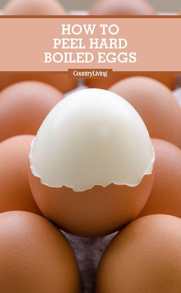 6 Tricks That Will Make Peeling a Hard Boiled Egg Incredibly Easy #hardboiledeggs