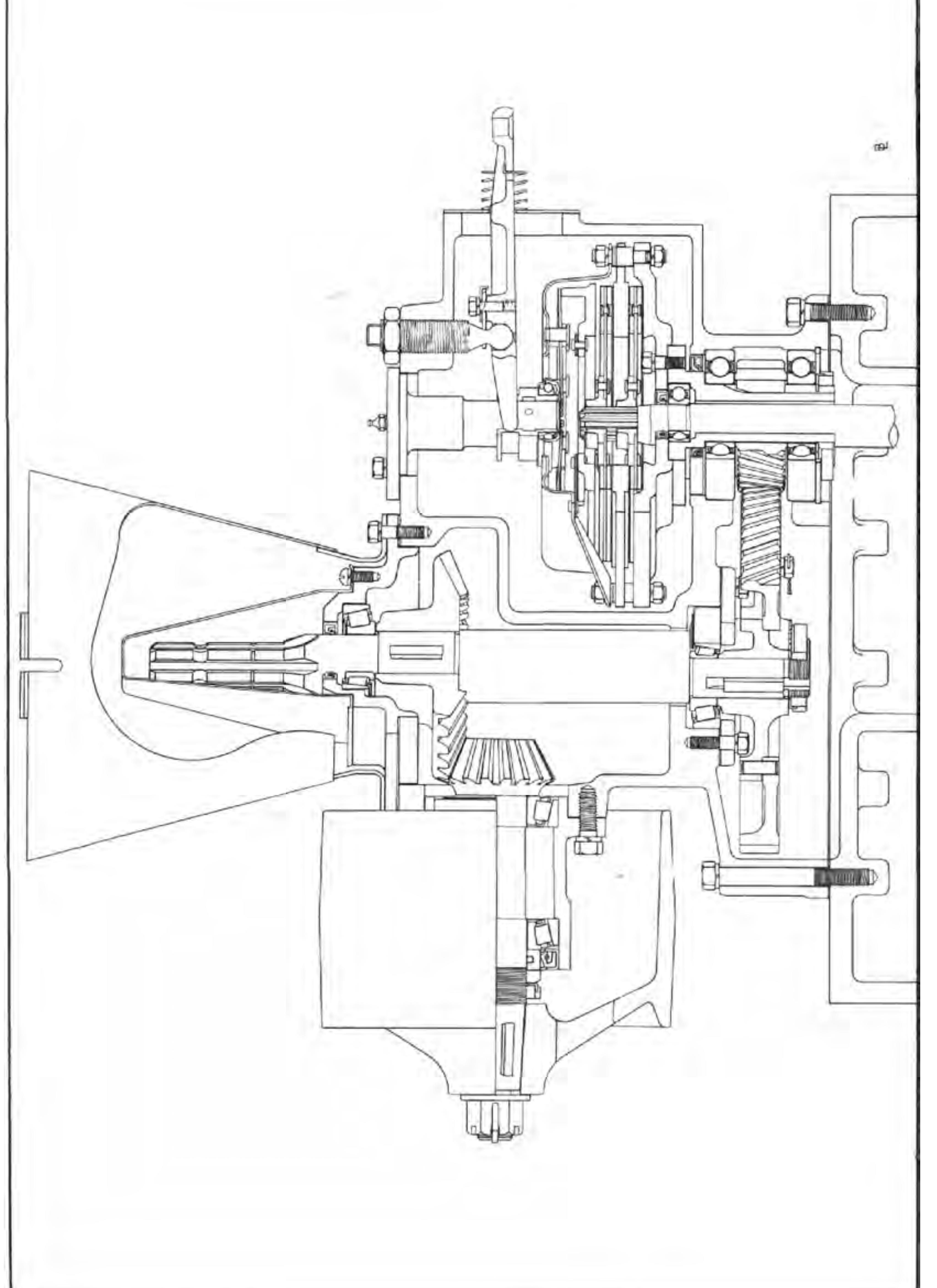 Illustration shows the PTO clutch etc . For manuals on all