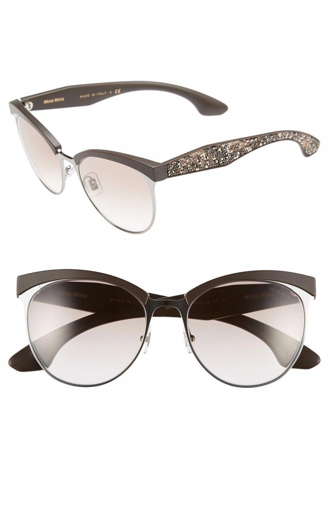 d71bffc43a Miu Miu 56mm Pavé Cat Eye Sunglasses available at  Nordstrom  MiuMiu ...