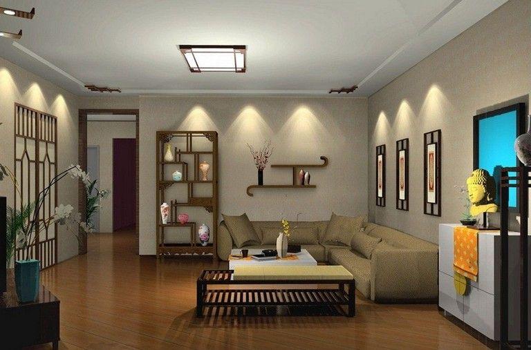 18 Marvelous Modern Living Room Lighting That Will Make Home Beautiful Living Room Spotlights Living Room Lighting Design Living Room Lighting Ideas Low Ceiling