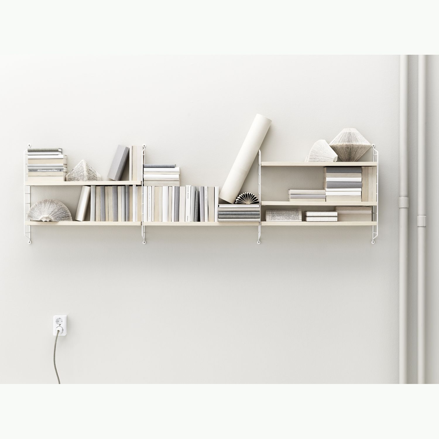 String Shelving In Ash Pictures
