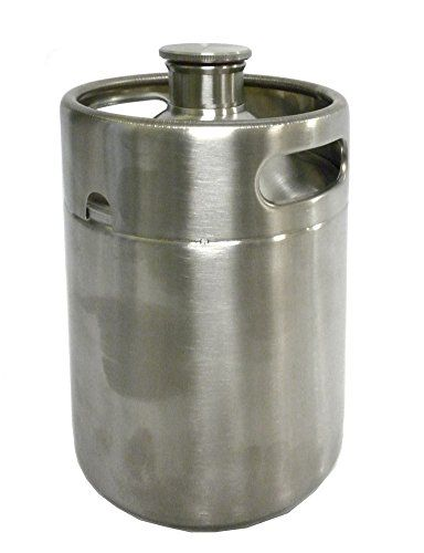 Stainless Steel Mini Beer Keg To Go Growler AdNArt http://www.amazon.com/dp/B00SS5R3CM/ref=cm_sw_r_pi_dp_EtMwwb18F8GT7