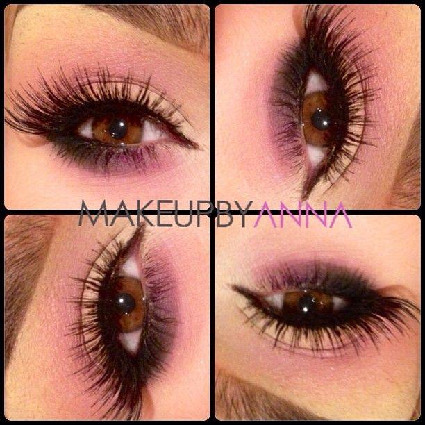 #purples/pinks   #makeupbyanna