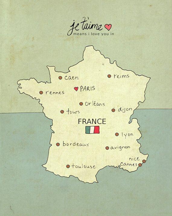 France prints Travel maps wall art posters Dijon wall art prints Map print of Dijon Dijon poster Dijon map print