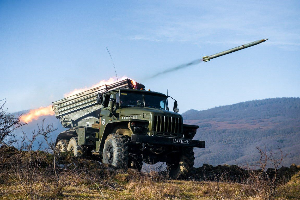 100%™ 1994-pr. Ural 4320-31 BM-21-1 RSZO Grad | Russian ...