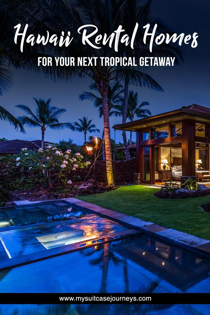 Hawaii Rental Homes for Your Next Winter Getaway is part of Luxury home Hawaii - Dreaming of a warm vacation getaway to escape the winter cold  Here are 6 Hawaii rental homes that will make you wanna book a flight ASAP!