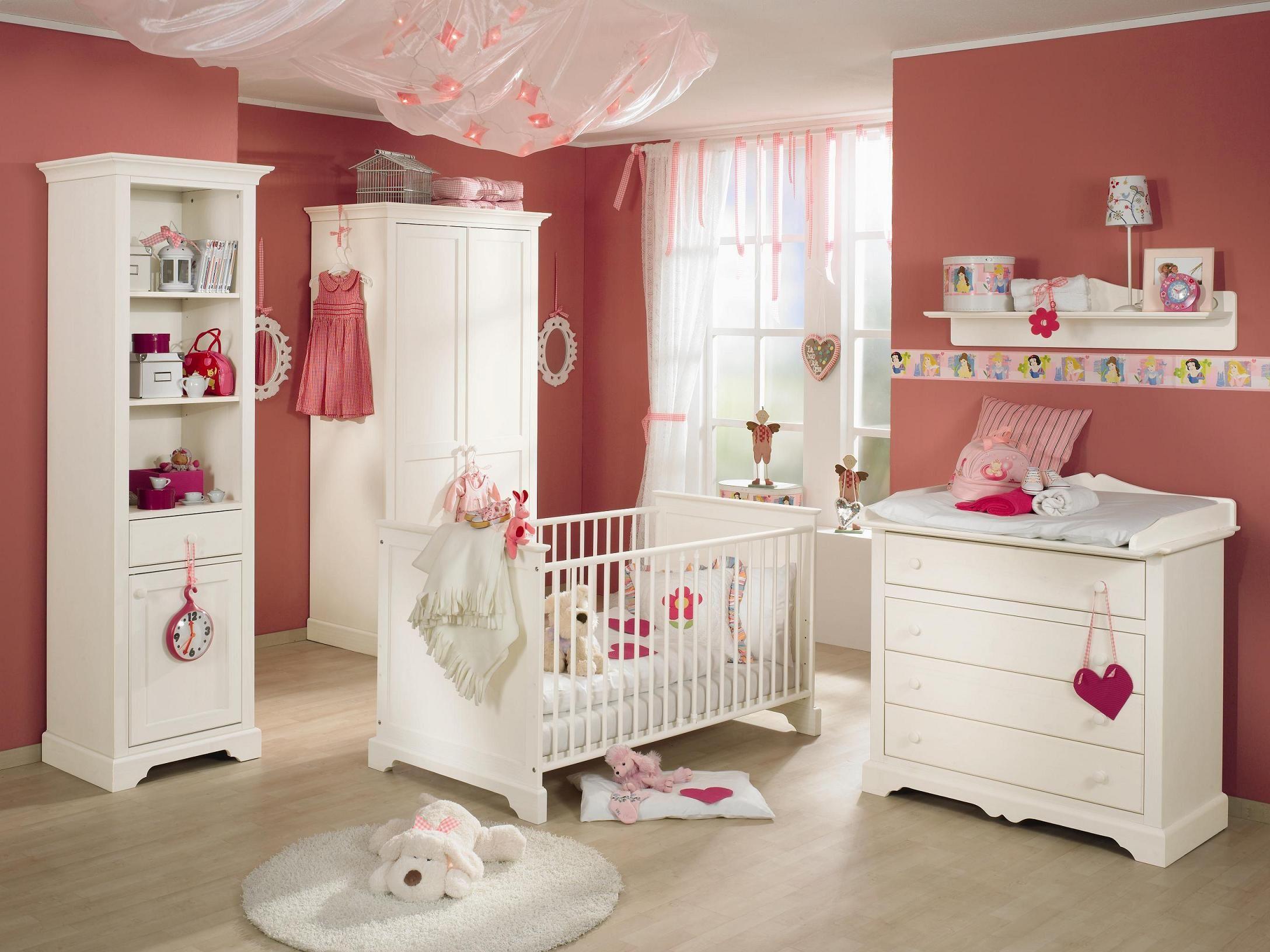 Fesselnd Kinderzimmer Sylvie Von Paidi Ist Ein Ein Reich Für Prinzessinnen. Das  Babyzimmer Sylvie Hat Fronten