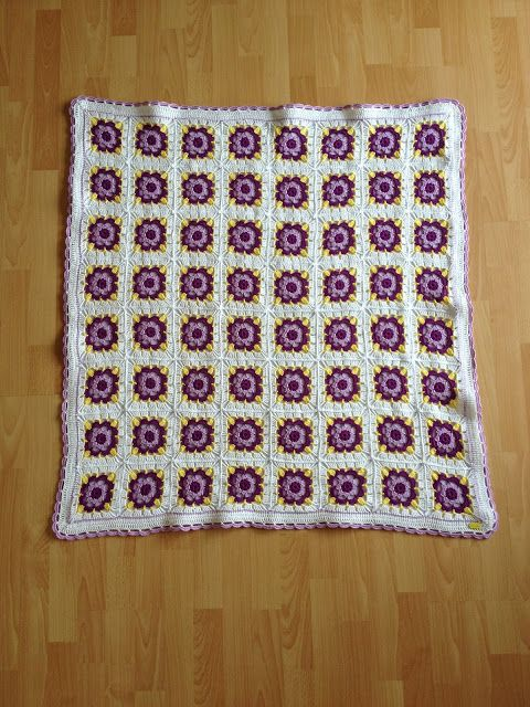 Gehäkelte Babydecke Granny Squares Crochet Baby Blanket Diy Baby