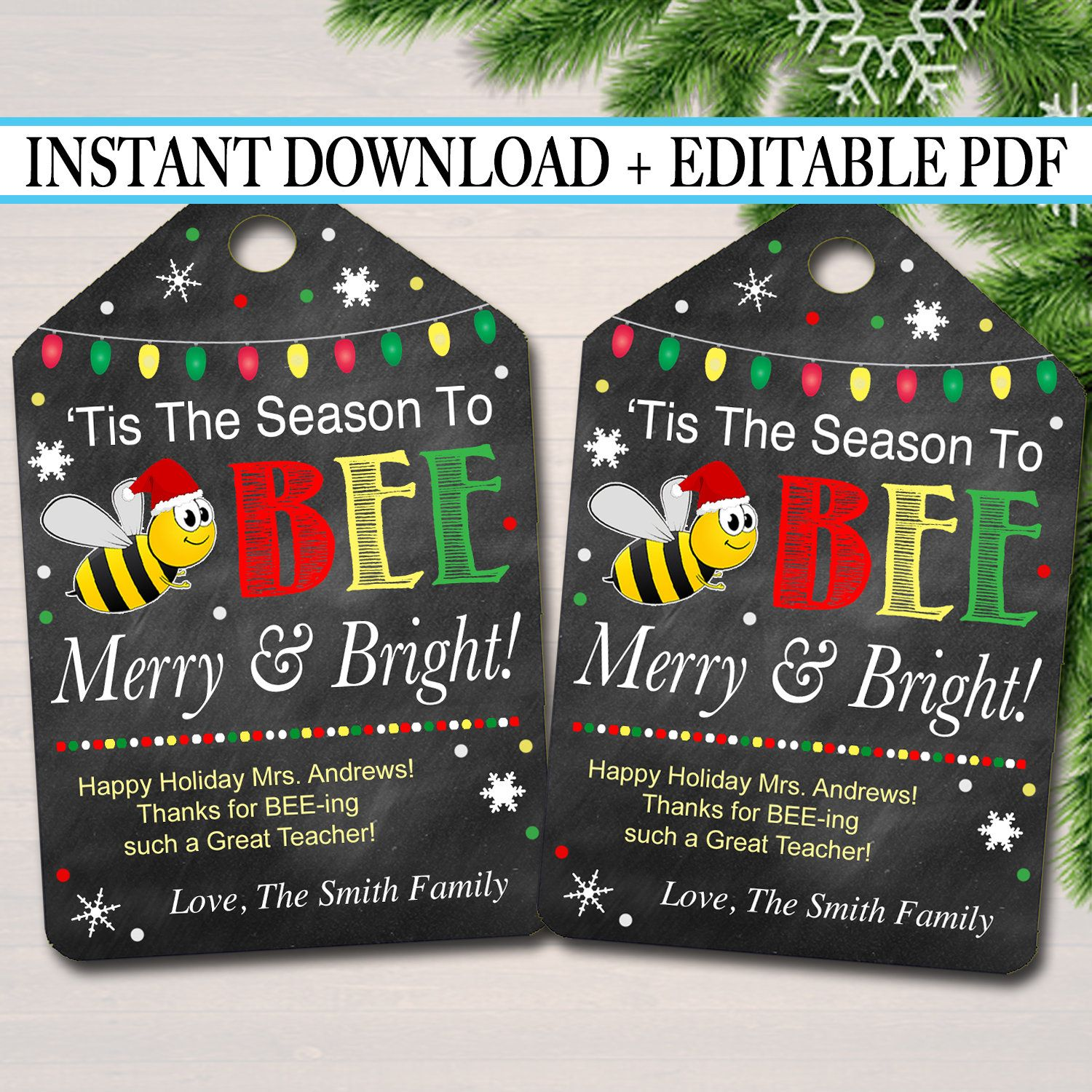 Where Can I Volunteer On Christmas Day 2021 Christmas Gift Tag Chapstick Bee Tag Volunteer Thank You Gift Pta Pto Staff Teacher Holiday Balm Honey Favor Printable Instant Editable In 2021 Christmas Gift Tags Staff Gifts Bee Tags