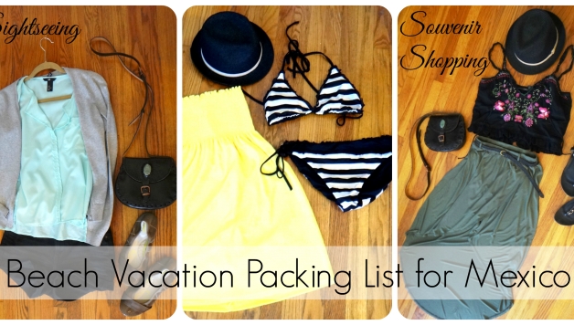 Beach Vacation Packing List For Mexico: Inspiration To