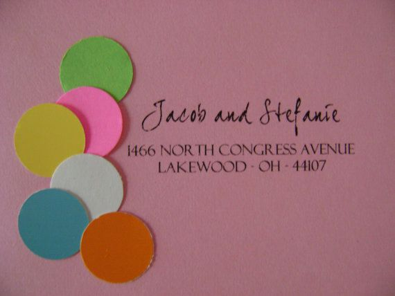 Custom Address Stamp by 10twentyonedesigns on Etsy #BoutiqueBridalBazaar