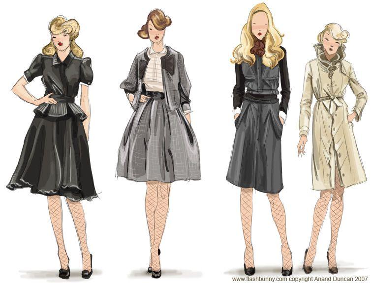 How to Draw Fashion Model Sketch | Fashion Belief | desenho de ...