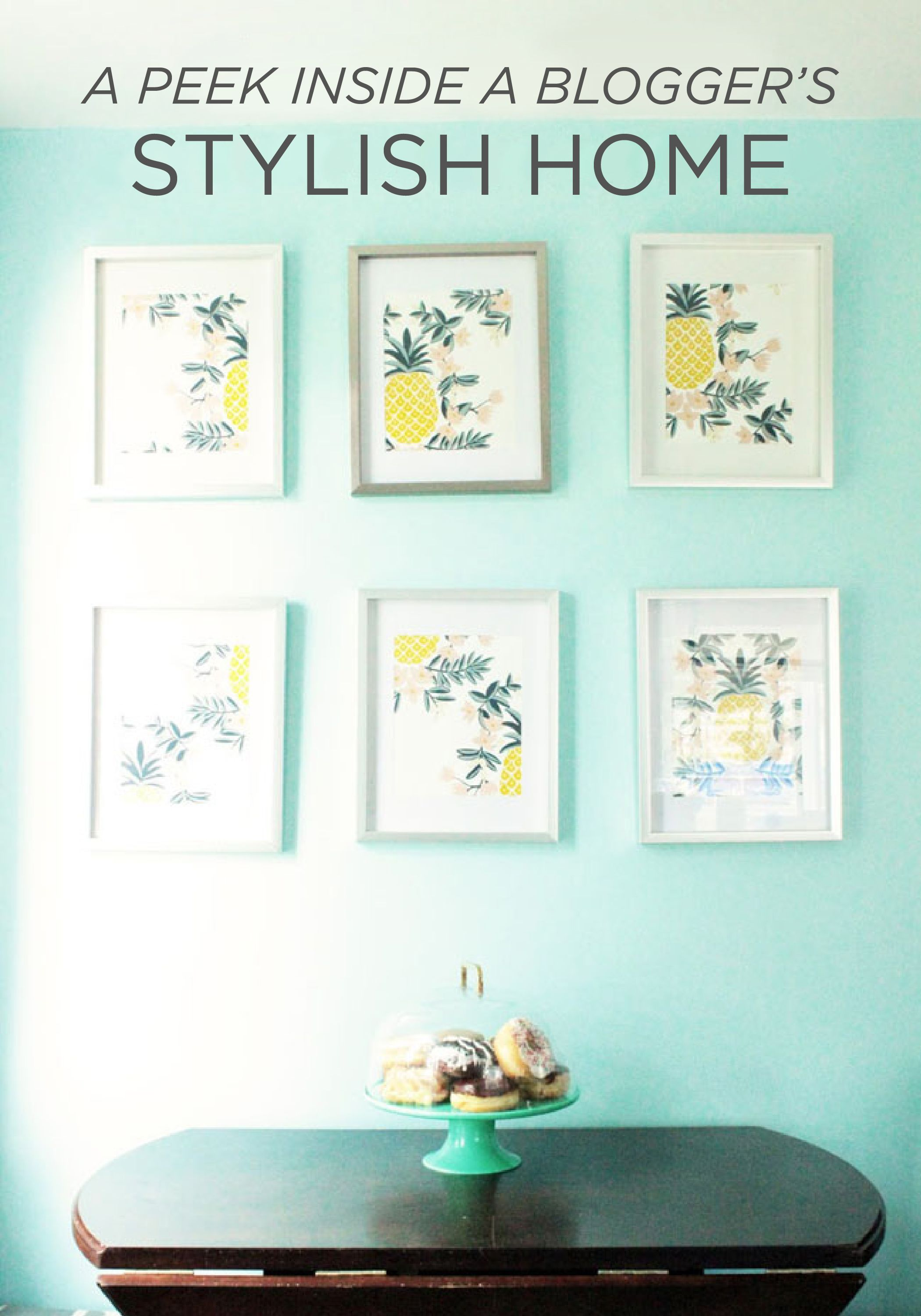 Peek Inside This Bloggers Stylish Home To Find Up To Date Spring Inspiration