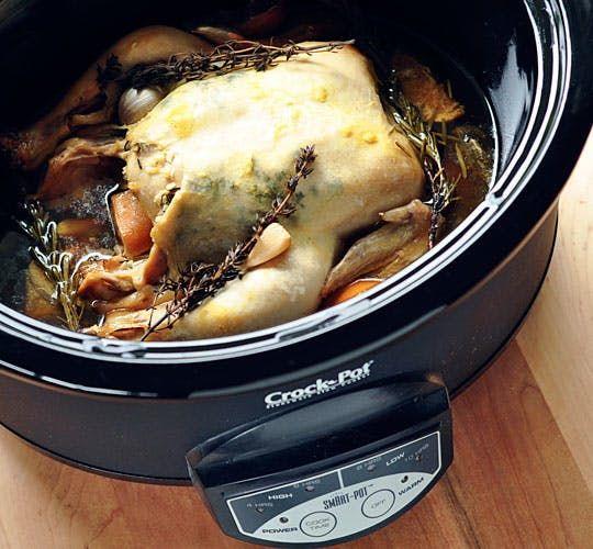 Easy Dinner Recipe: Slow-Cooker Lemon Garlic Chicken — Recipes from The Kitchn