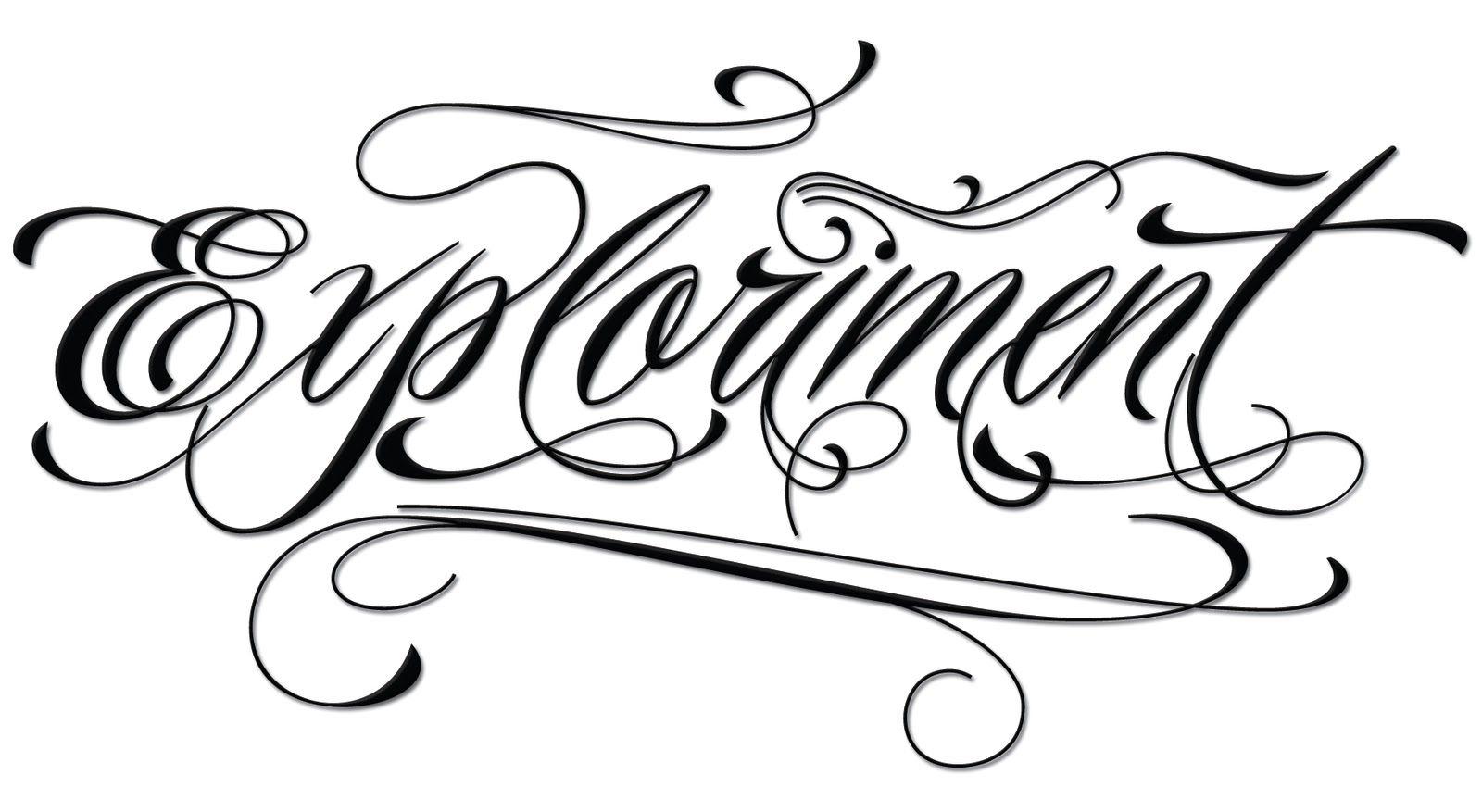 Piel Script Tattoo lettering, Tattoo fonts, Free tattoo