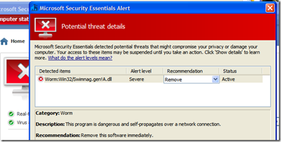 How To Get Rid Of Microsoft Security Essentials Alert