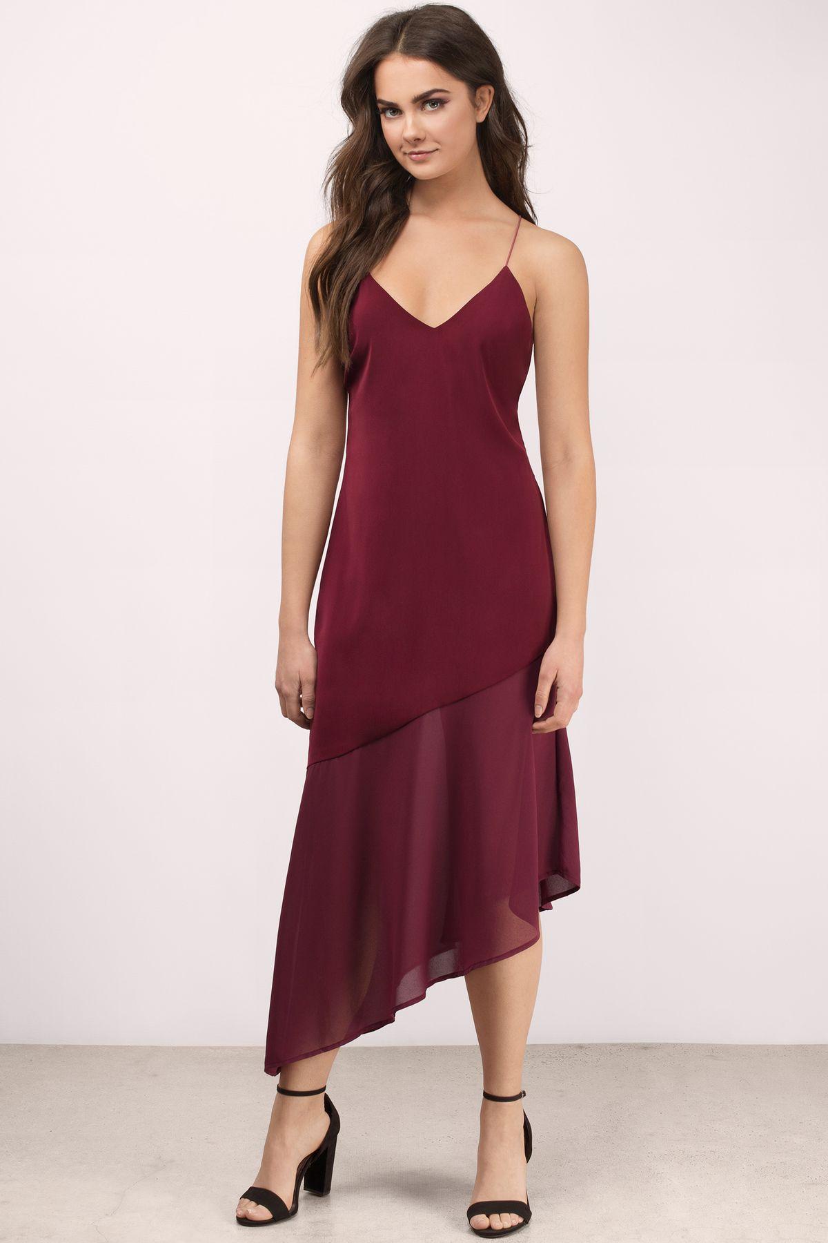 Two Of A Kind Midi Dress In Wine In 2021 A Line Prom Dresses Dresses Petite Prom Dress [ 1800 x 1200 Pixel ]