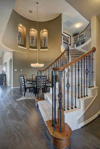 Castle Rock Homes San Marcos Plan At Santa Rita