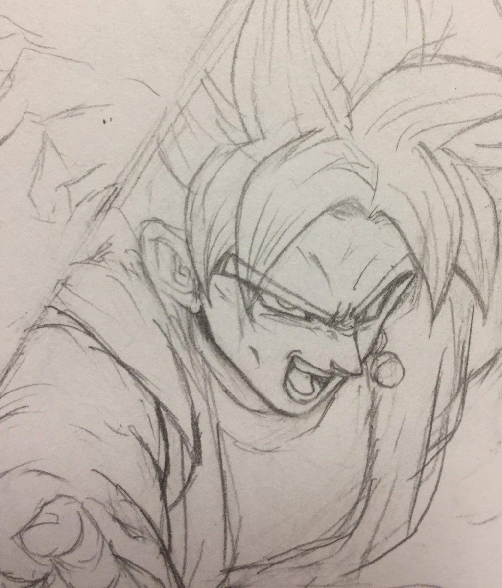 Dessin Black Goku Creation Dragon Ball Art Anime Dragon Ball Anatomy Drawing