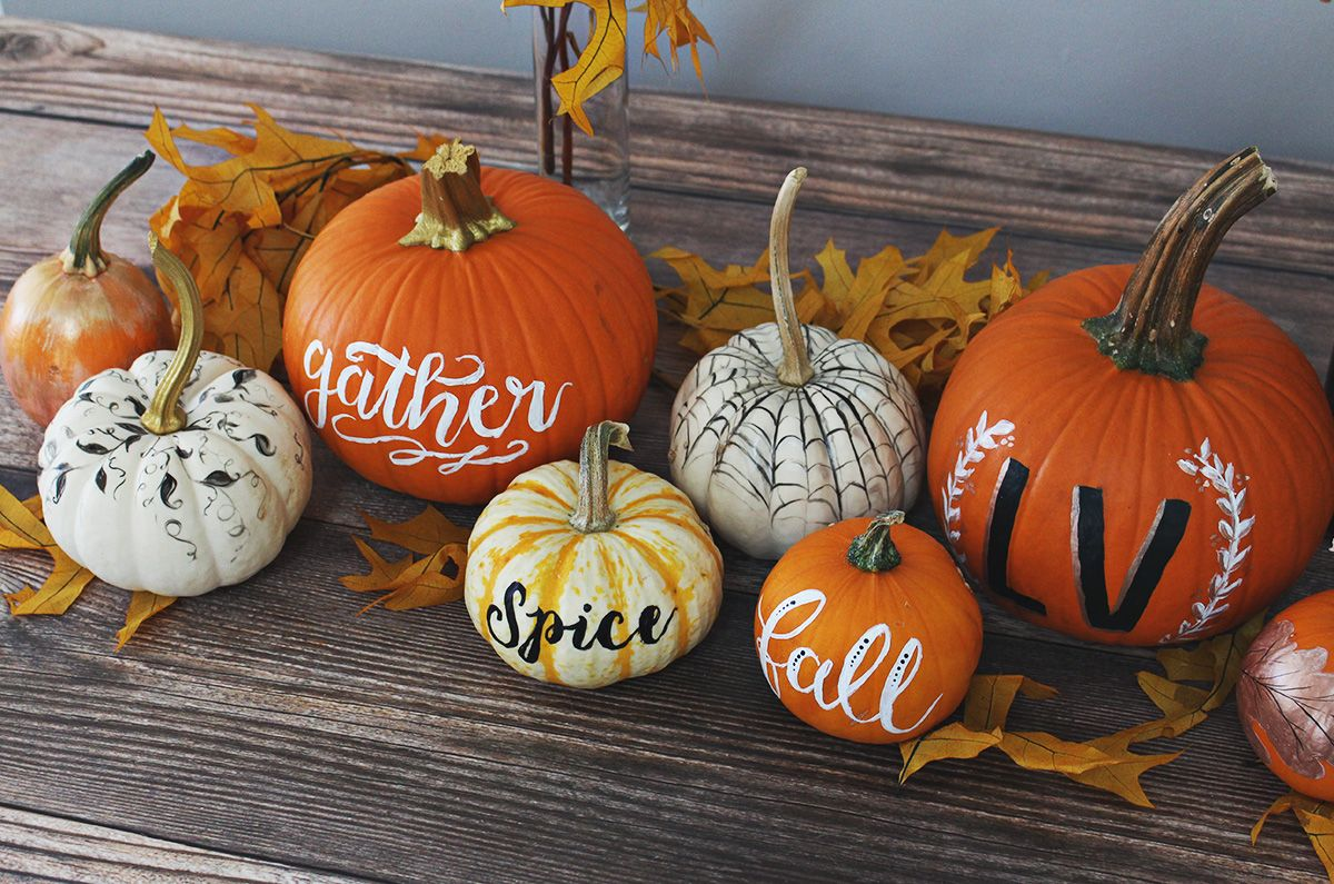 5 Creative Ideas for Painting Elegant Pumpkins