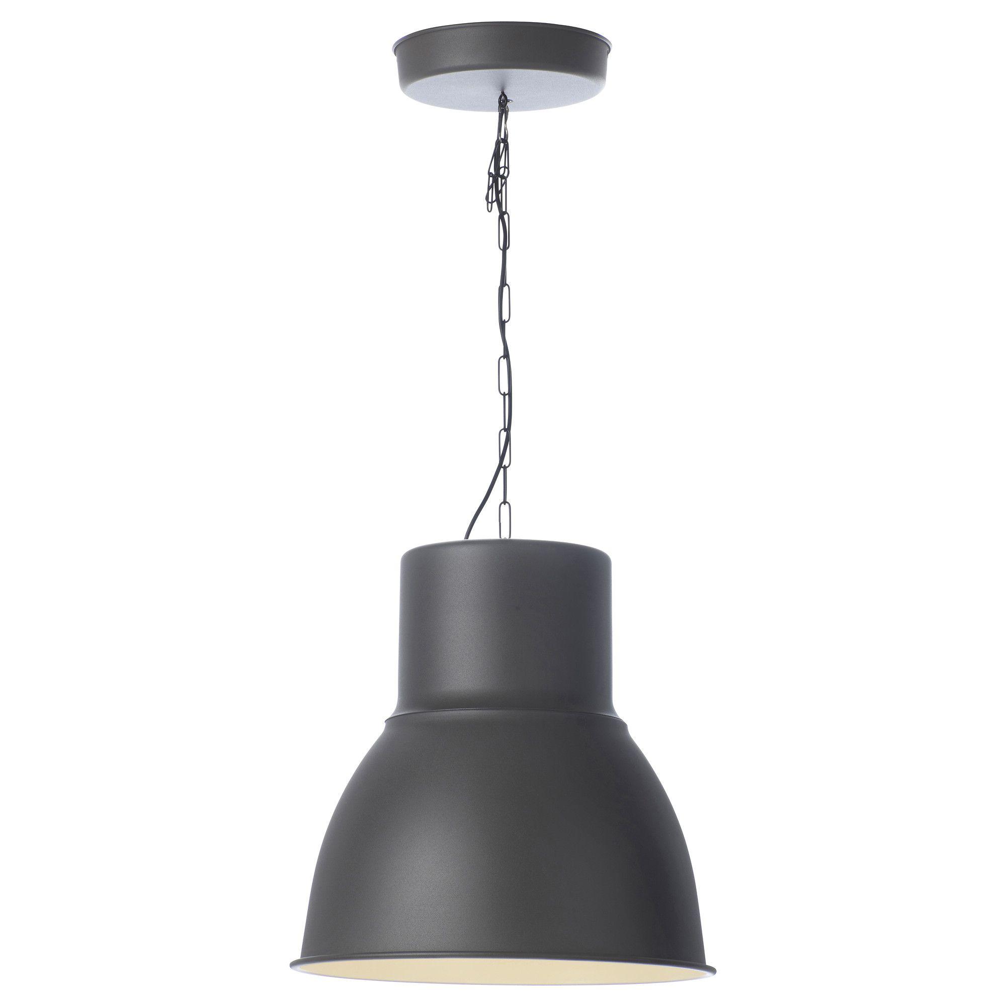 Hektar Pendant Lamp Dark Gray 19 Ikea Pendant Light Ikea