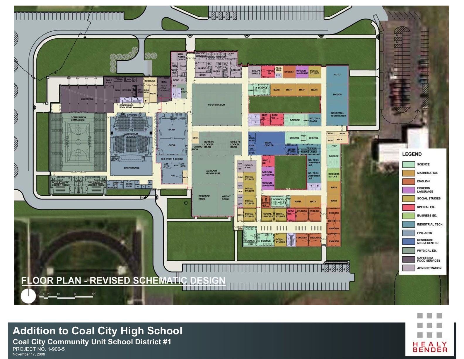 Jabis computer site and floor plans for schools