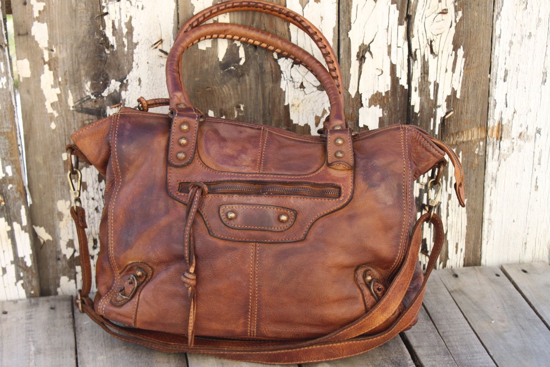 35b188709733 Soft distressed cognac leather bag perfect distress bag vintage jpg  1500x1000 Soft leather handbags purses