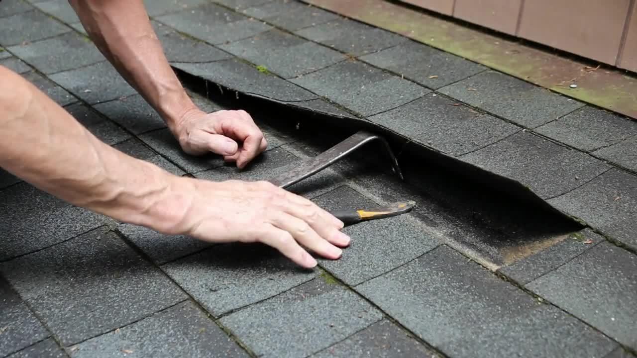 Video Replace an Asphalt Roof Shingle Asphalt roof