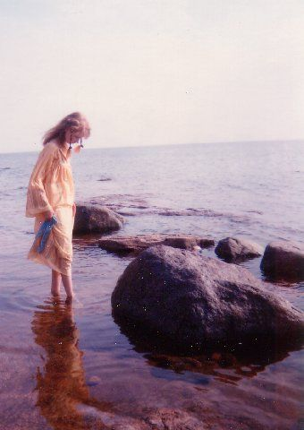 My first time at the sea, I was 13.