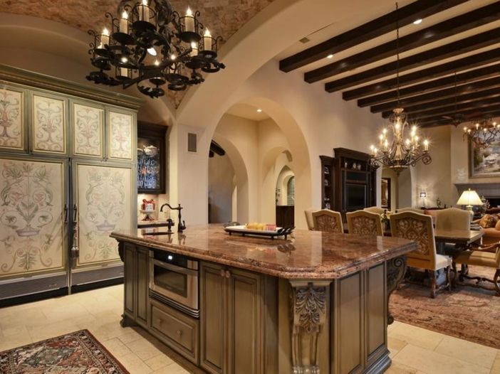5 3 million tuscan mansion in austin texas large - Kitchen sinks austin tx ...