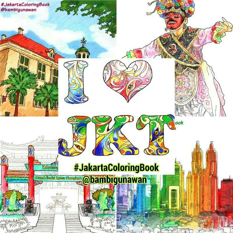 Betawi Jakarta Jakartaindonesia Indonesia Jkt Ilovejakarta Museumfatahillah Museumfatahilah Exploringjakarta Adultcoloringbook Coloringbook