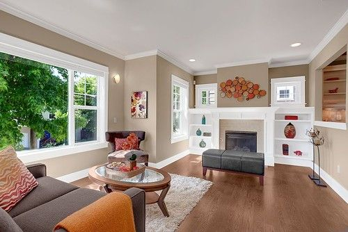 Benjamin Moore Shaker Beige Favorite Paint Color This Photo And The Crisp White Trim Make T Living Room Colors Paint Colors For Living Room Living Room Paint