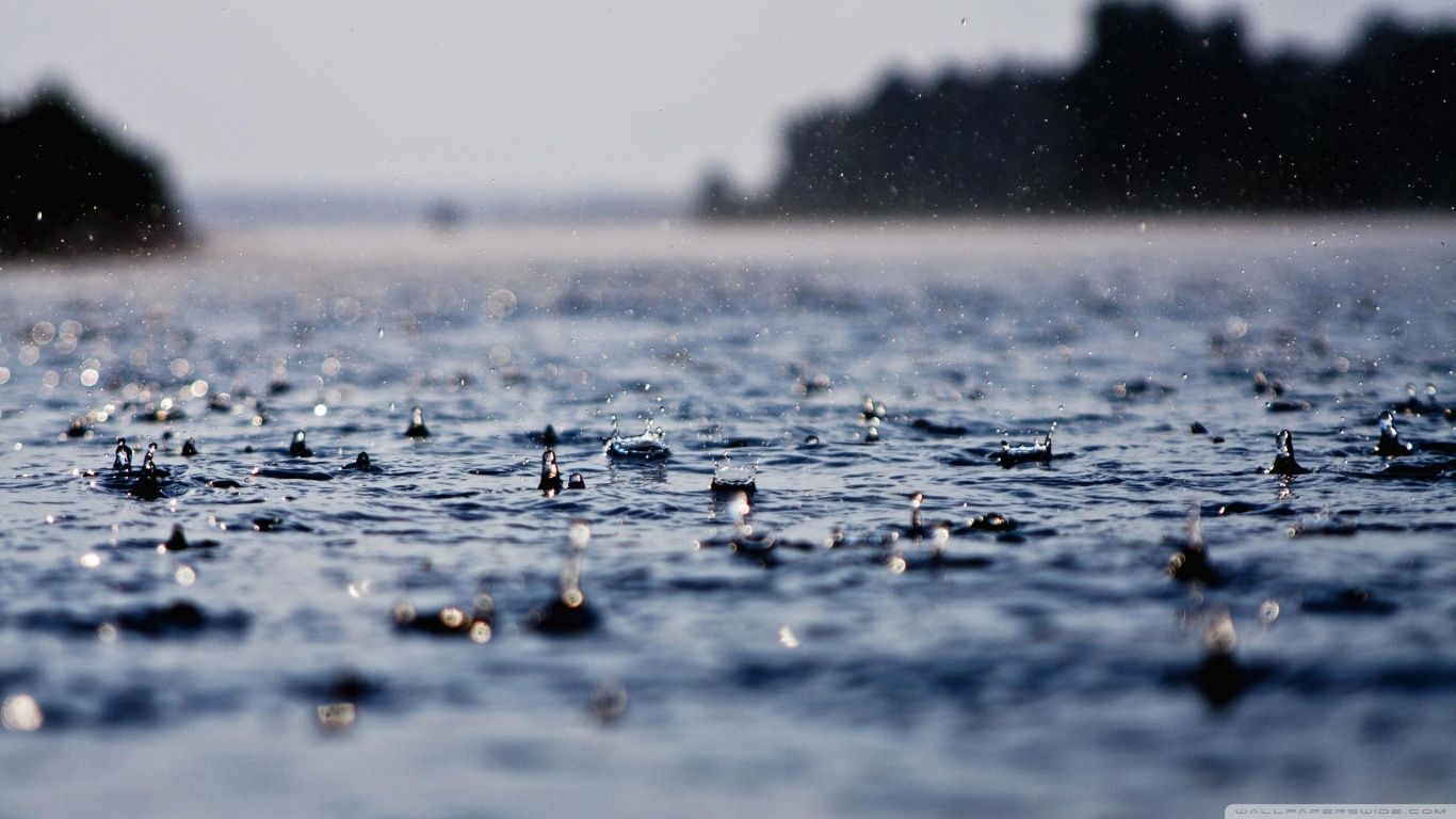 Rain Drops Hd Hd Desktop Wallpaper High Definition Fullscreen Rain Wallpapers Nature Wallpaper Nature Water