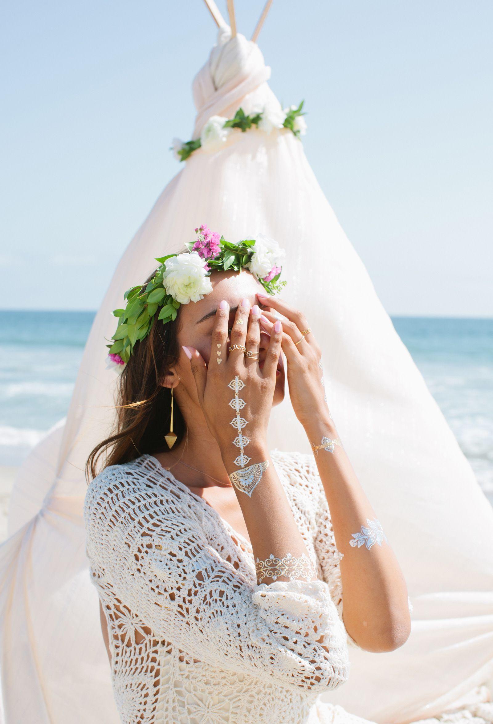 Lulu DK Metal tattoo, Wedding dresses lace, Jewelry tattoo